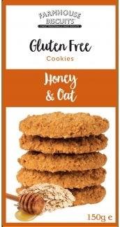 Gluten Free Honey & Oat Cookies 150g
