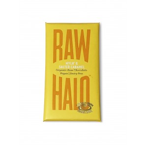 Raw Halo Mylk & Salt Chocolate Bar 35g