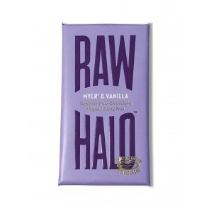 Raw Halo Mylk & Vanilla Chocolate Bar 35g