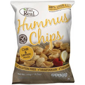 Hummus Chilli & Lemon Chips